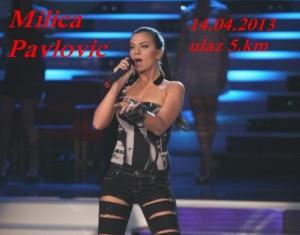 Milica Pavlović @ Diskoteka Pasha (14.04)