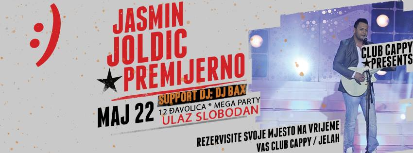 Jasmin Joldić @ Club Cappy (22.05)