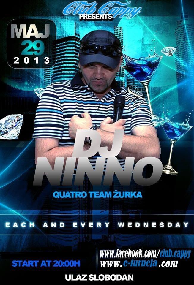 DJ NINNO @ Club Cappy (29.05)