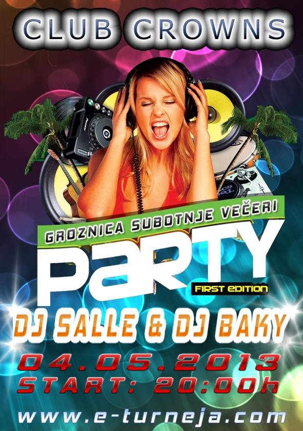 Balkan žurka @ Club Crown's (04.05)