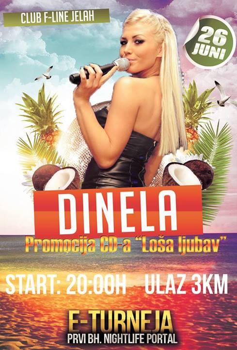 Club F-LINE: Dinela | 26.06