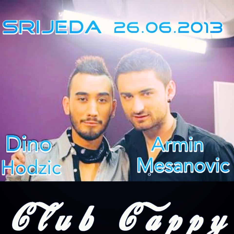 Club Cappy: Dino Hodžić – Armin Mešanović (26.06)
