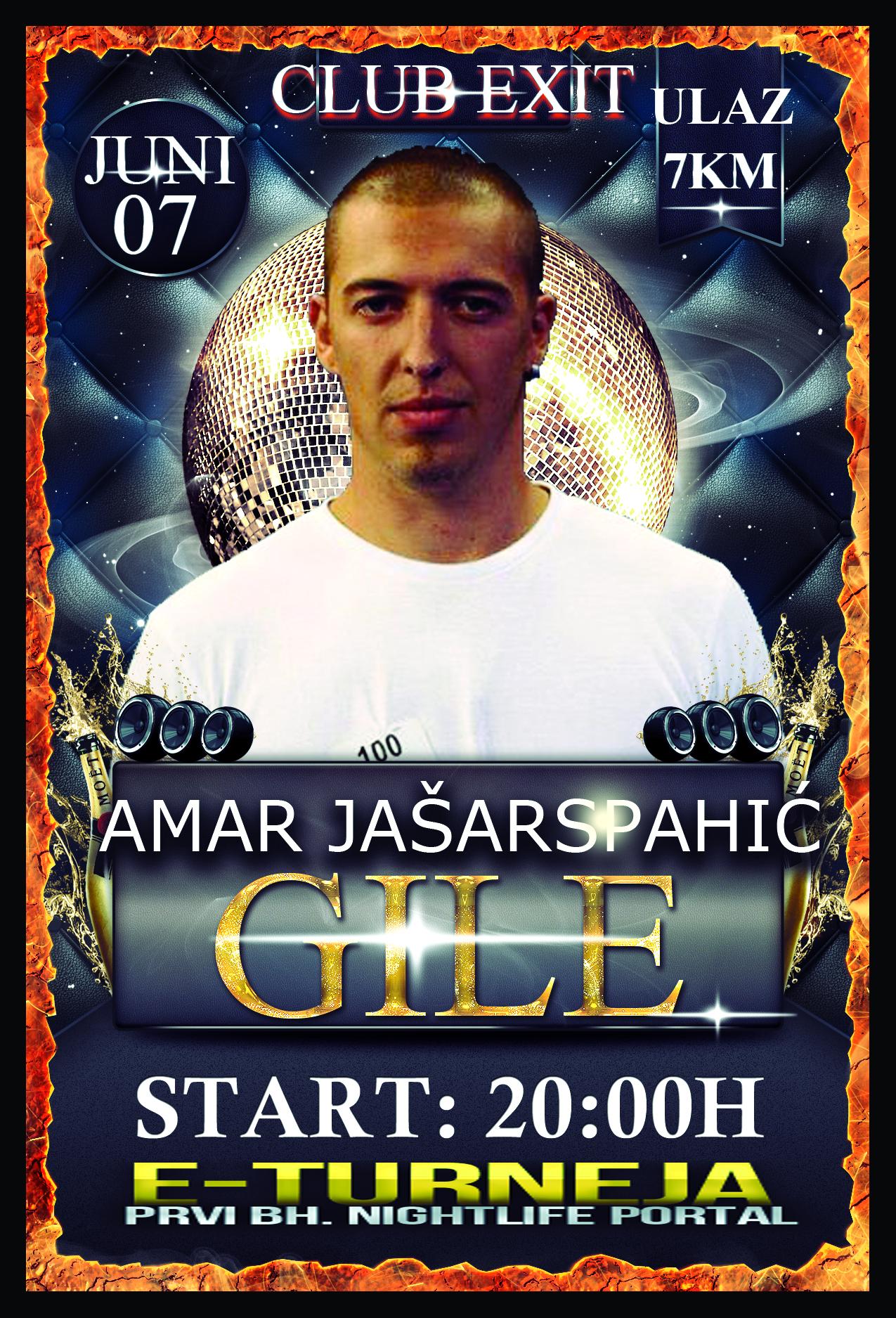 Amar Jašarspahić @ Club Exit (07.06)