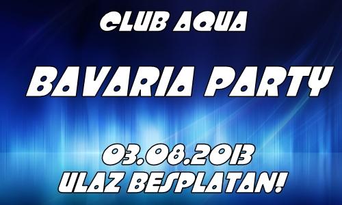 Club Aqua: Bavaria party   03.08