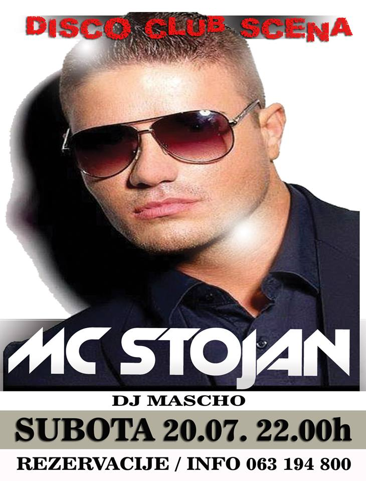Club Scena: MC Stojan | 20.07