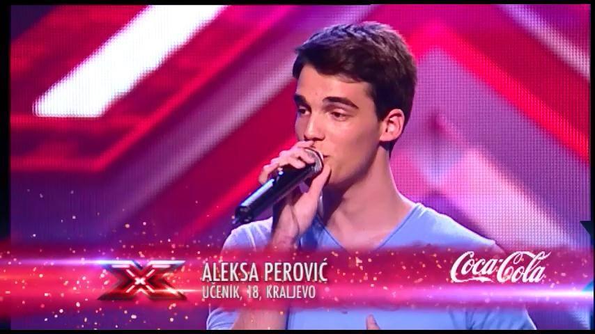 X FACTOR: Aleksa Perović: Stremim ka najvišem cilju, korak po korak !