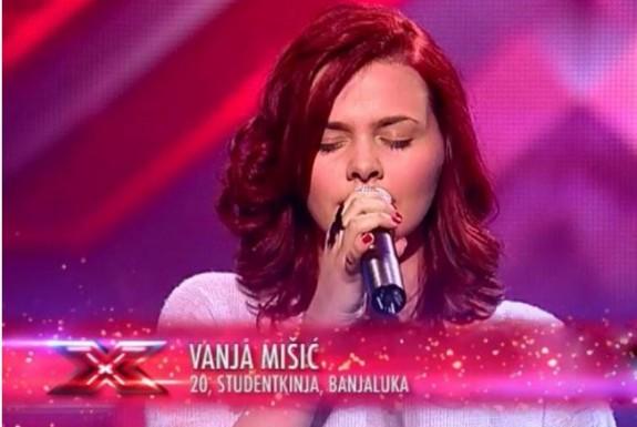 X FACTOR: Vanja Mišić: Publika je prepoznala iskrenost i emociju koju sam pokazala kroz svoju izvedbu !