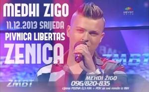 Mehdi Žigo: Zenico grade moj, 11.12. pjevamo zajedno u Libertas-u!
