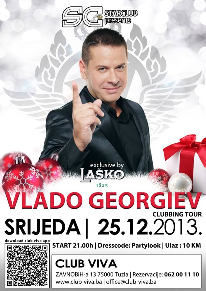 CLUB VIVA: Vlado Georgiev | 25.12