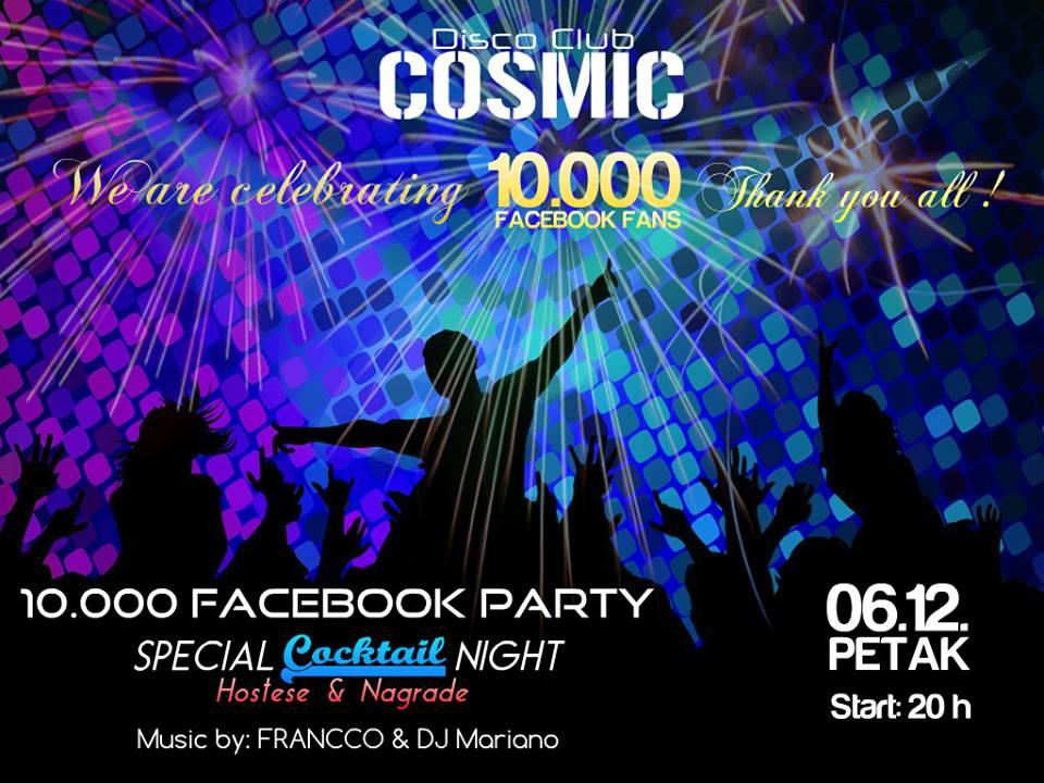 Disco Club Cosmic: Cocktail Night | 06.12
