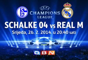 SCHALKE 04 vs REAL M NA OBN TV  !
