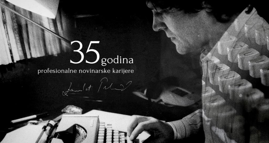 Dževdet Tuzlić obilježava 35 godina profesionalnog novinarstva