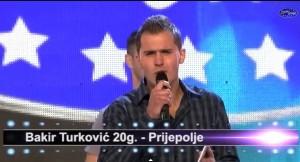 ZVEZDE GRANDA: Bakir Turković fascinirao žiri i publiku