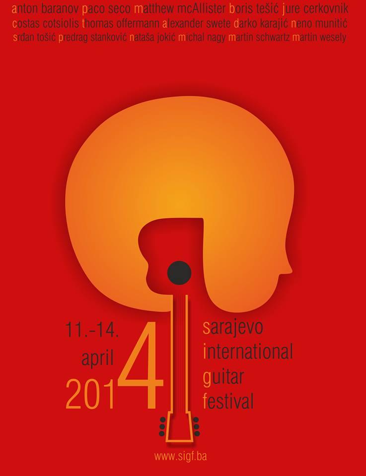 U petak počinje Sarajevo International Guitar Festival 2014!
