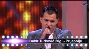 ZVEZDE GRANDA: Bakir Turković u teškom duelu prošao dalje