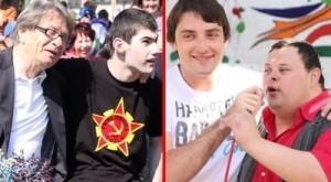 Tuzla: Ćiro Blažević i Mirza Selimović uljepšali dan djeci sa smetnjama u razvoju