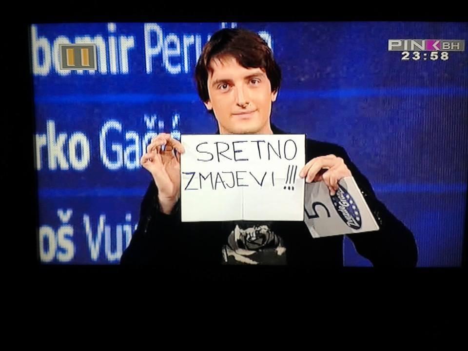 Ovako je Mirza Selimović proslavio prolaz u finale !