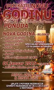 Gdje za Novu godinu u Tuzli?