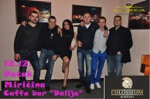 Colosseum band u Caffe bar-u Dalija !
