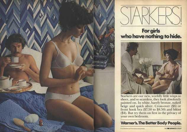 Kako je to bilo nekad: Retro seksi reklame za donje rublje iz 70-ih, 80-ih i 90-ih