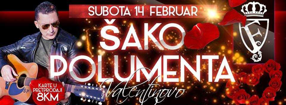 Valentinovo uz Šaku Polumentu u diskoteci Falco