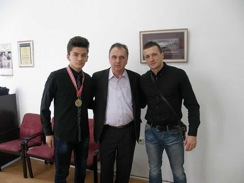 Ministar Kunić ugostio evropskog prvaka u karateu za kadete