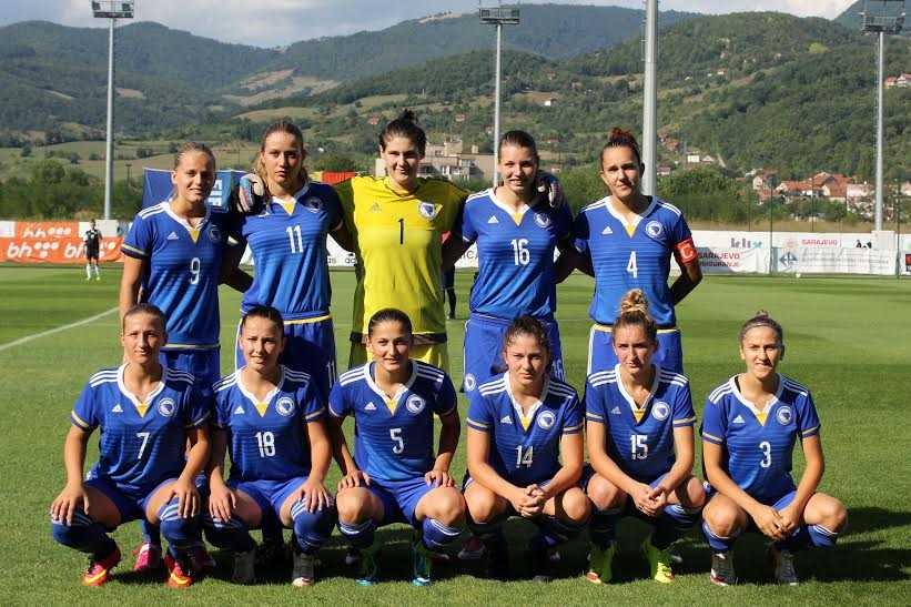 Ženska nogometna U19 selekcija BiH savladala Albaniju 3:1