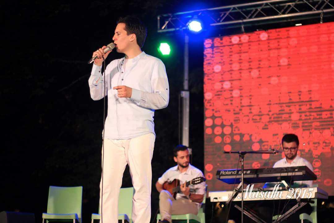Armin Muzaferija na američkoj turneji
