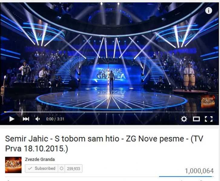 """""""S TOBOM SAM HTIO"""" APSOLUTNI HIT ! Semir Jahić postao MILIONER"""