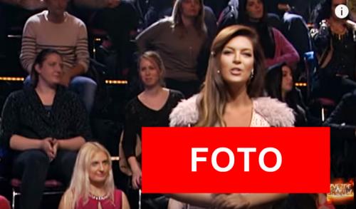 NAJVEĆI DEKOLTE IKADA NA NJOJ: Sanja Kužet je i sinoć gledaoce Zvezda Granda stavila na muke!