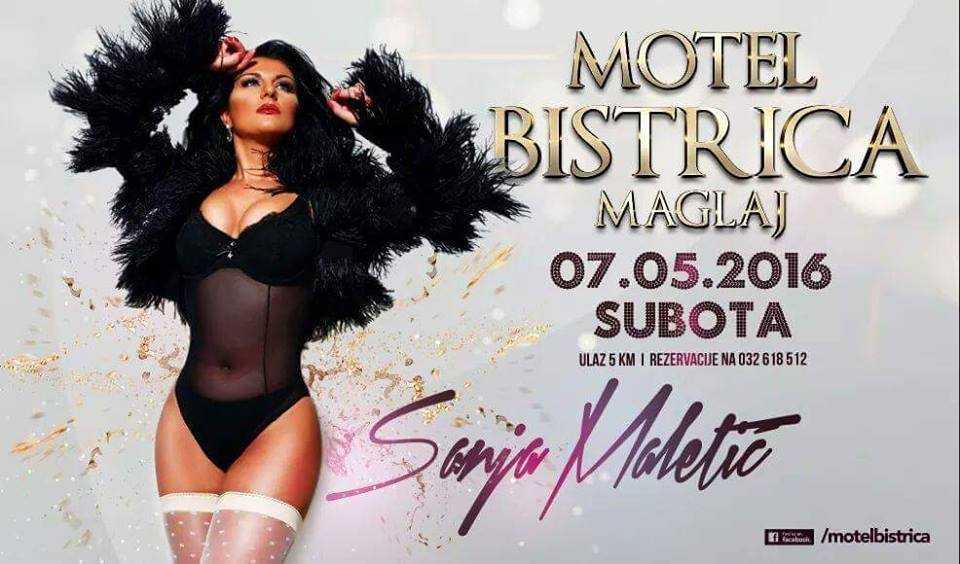 Sanja Maletic u Motelu Bistrica u Maglaju !