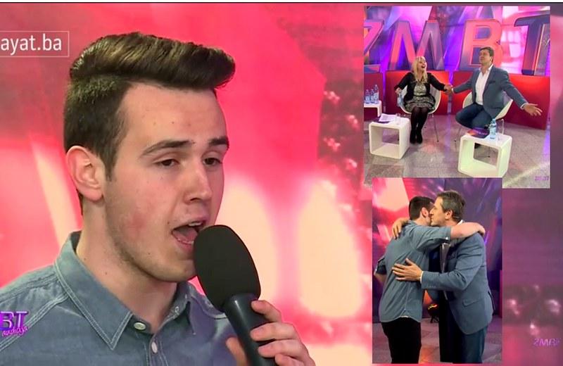 """""""TI SI VEĆ U FINALU"""": Toliko dobro otpjevao sevdalinku da su svi zanijemili , a onda mu je Enes rekao nešto što nije mogao ni sanjati (VIDEO)"""