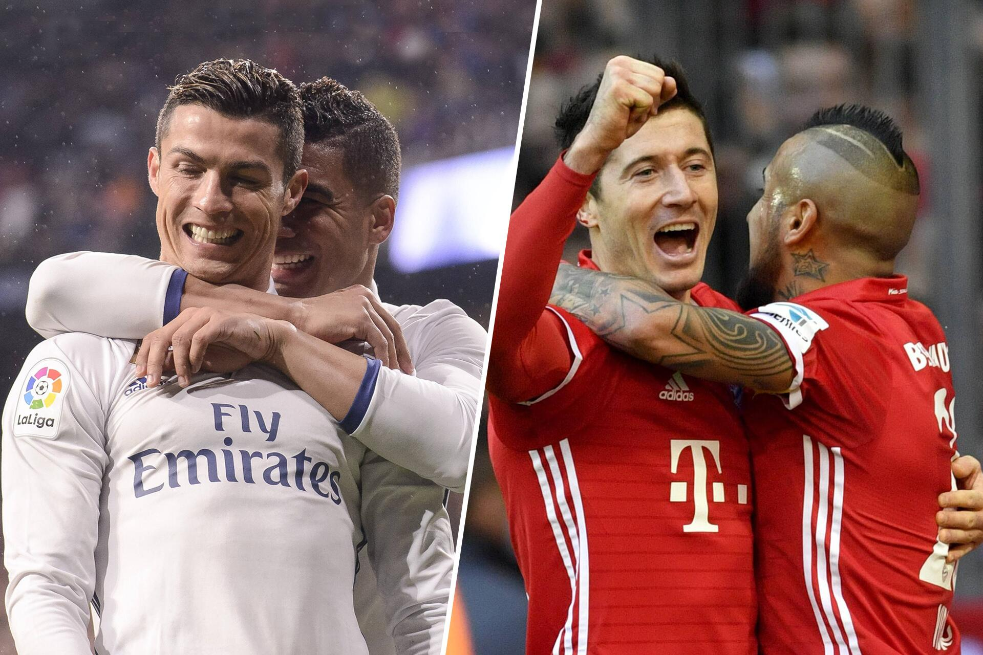 Nogometna poslastica na OBN-u: Bayern Munchen- Real Madrid