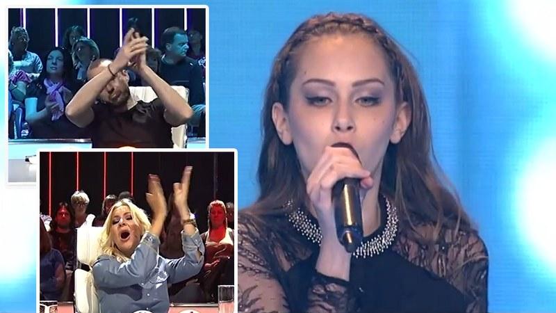 GLAŠČINA MARIJE ŠERIFOVIĆ: Nevjerovatna Amna rasturila, žiri vikao: BRAVOOO! (VIDEO)
